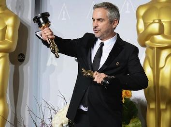 Alfonso Cuaron Gravity Oscars 2014