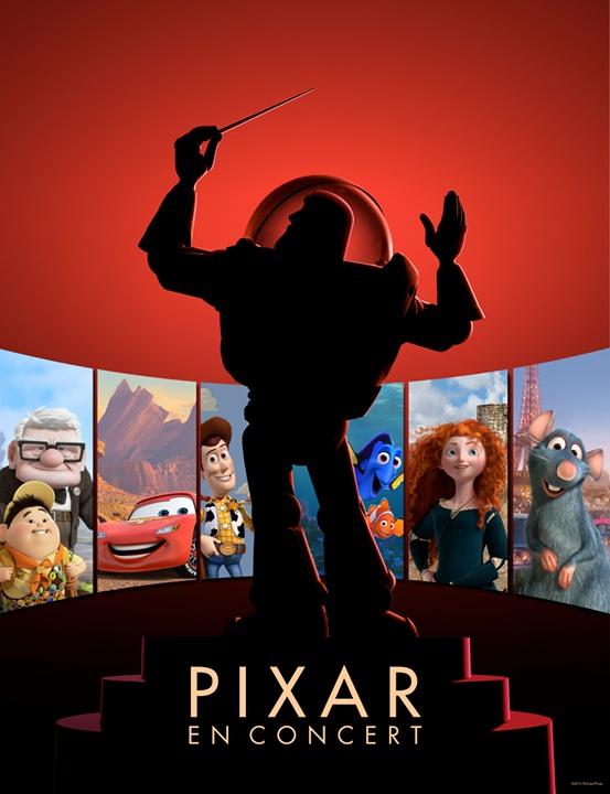 Concert Pixar affiche