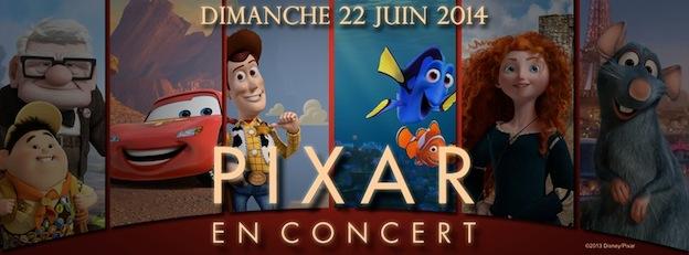 Concert Pixar banniere