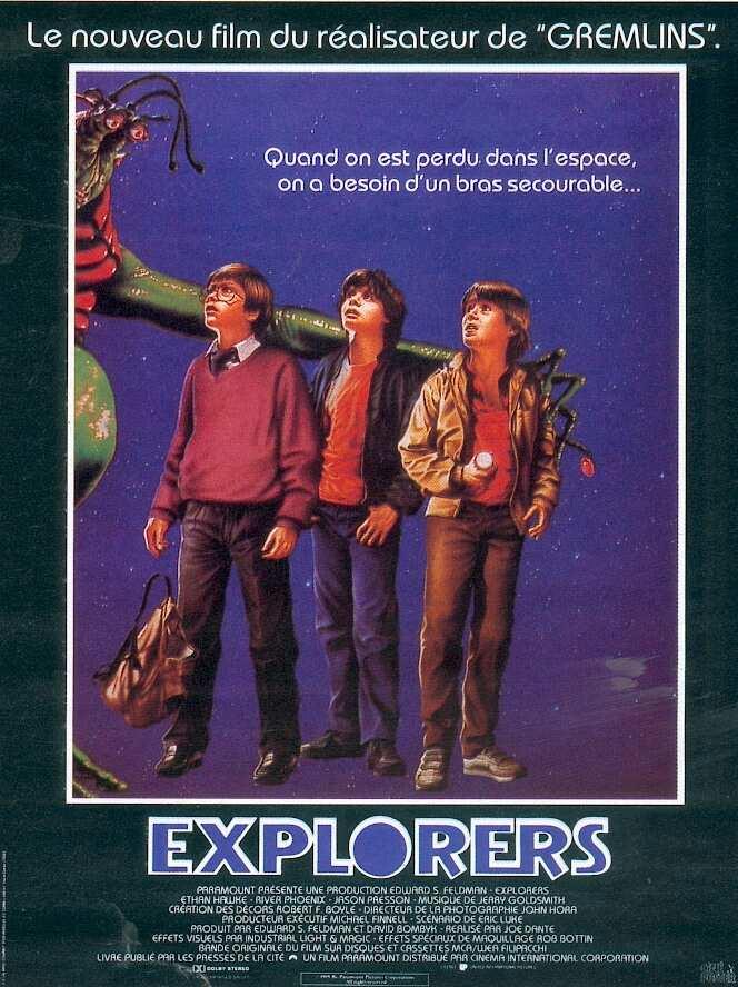 Explorers affiche