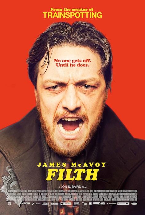 Filth avec James MacAvoy-affiche