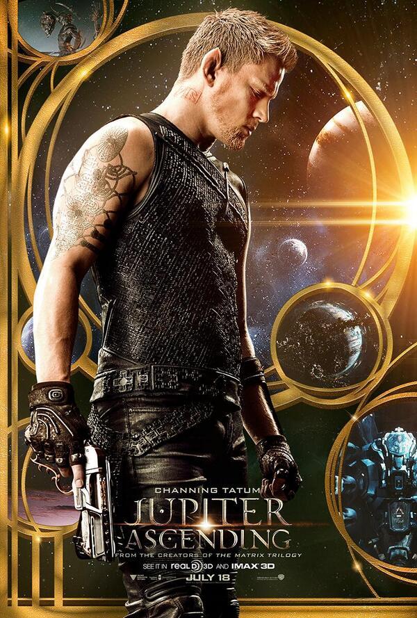 Jupiter Ascending affiche Channing Tatum