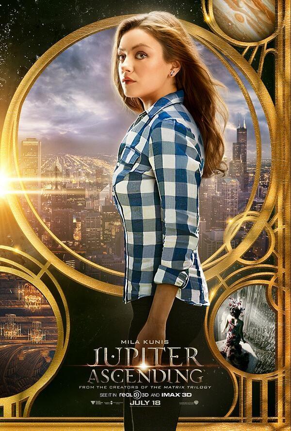 Jupiter Ascending affiche Mila Kunis