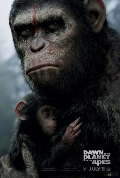 Dawn of the Planet of the Apes - La Planete des Singes l'affrontement affiche
