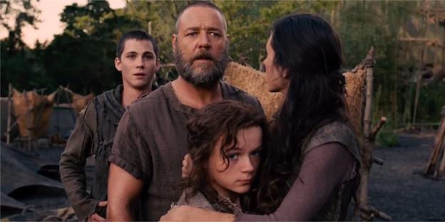 Russell Crowe dans Noé Darren Aronofsky / Paramount