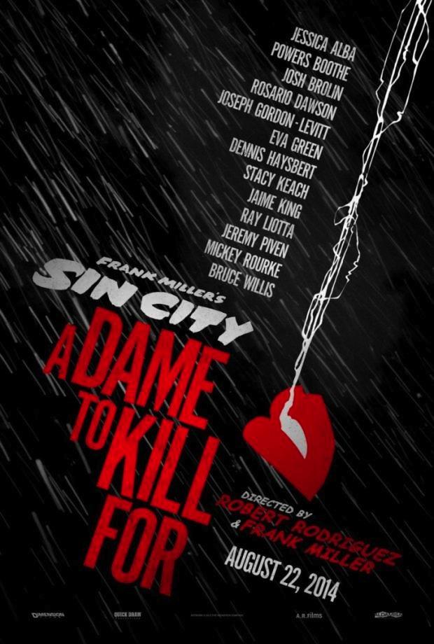Sin City 2 : J'ai tue pour elle affiche
