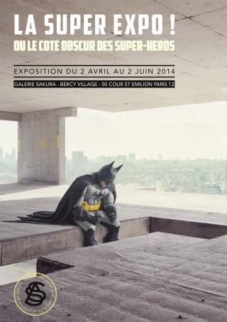 Super Expo ou le Cote Obscur des Super Heros Galerie Sakura poster