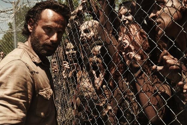 Andrew Lincoln -The Walking Dead saison 4 / Photo AMC