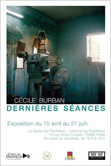 Cécile Burban - exposition Dernieres Seances au Salon du Pantheon