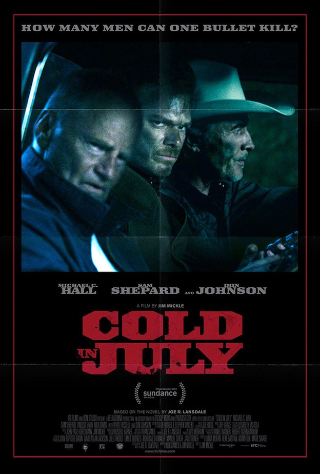 Cold in July de Jim Mickle affiche