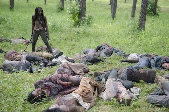 Danai Gurira - The Walking Dead saison 4 / Photo AMC