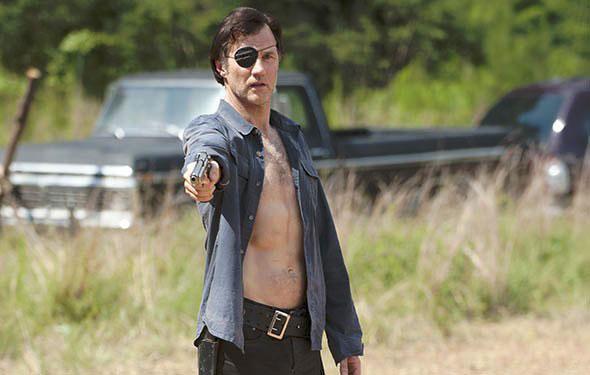 David Morrissey  - The Walking Dead saison 4 / Photo AMC