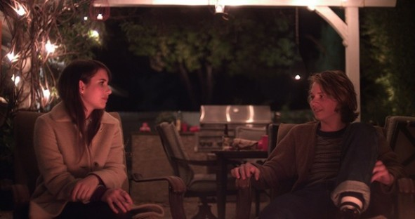 Emma Roberts et Jake Kilmer dans Palo Alto de Gia Coppola