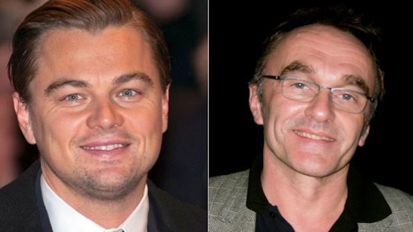 Leonardo DiCaprio et Danny Boyle