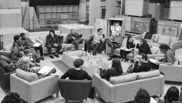 Casting de Star Wars 7 de JJ Abrams - Studios de Pinewood (Londres) le 29 avril 2014 / Copyright photo David James