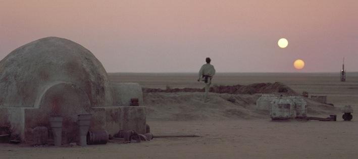 Tatooine - Star Wars (Un Nouvel Espoir - 1977)