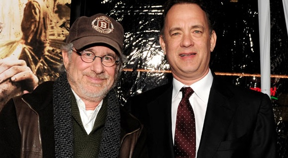 Steven Spielberg et Tom Hanks