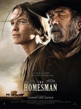 The Homesman de Tommy Lee Jones - affiche