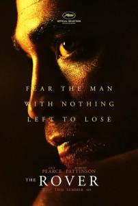 The Rover affiche Robert Pattinson