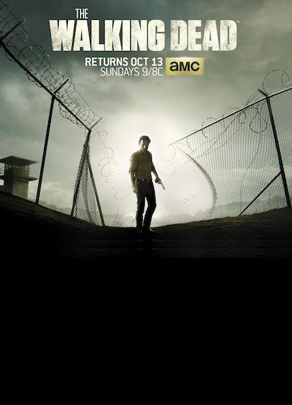 The Walking Dead saison 4 affiche