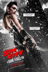 Rosiario Dawson dans Sin City : J'ai tue pour Elle de Robert Rodriguez et Frank Miller