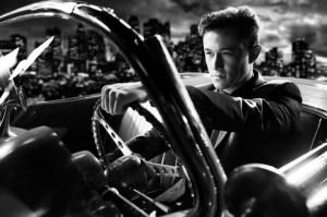 Joseph Gordon-Levitt dans Sin City : J'ai tue pour Elle de Robert Rodriguez et Frank Miller