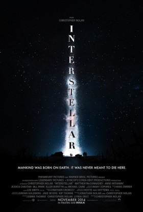 Interstellar de Christopher Nolan - affiche
