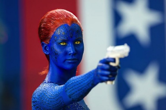 Jennifer Lawrence dans X-Men Days of Future Past de Bryan Singer / 20th Century Fox