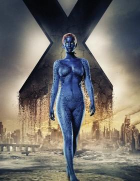 Poster Mystique (Jennifer Lawrence) - X-Men Days of Future Past / 20th Century Fox