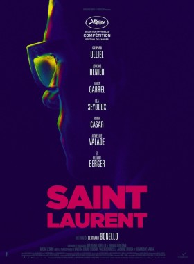 Saint Laurent de Bertrand Bonello affiche