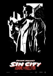 Sin City 2 J'ai tue pour elle affiche - Mickey Rourke (Marv)