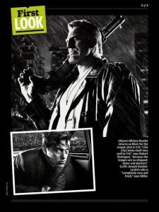 Mickey Rourke (Marv) dans Sin city 2 - Photo EW