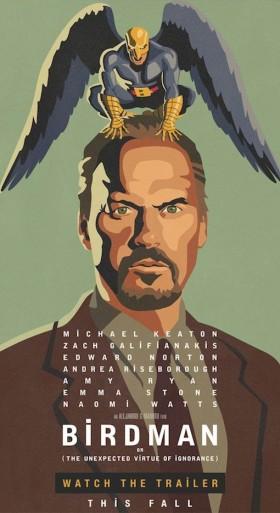 Birdman d'Alejandro Gonzalez Innaritu - affiche