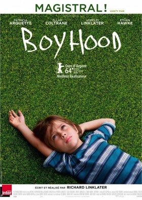 Boyhood de Richard Linklater - affiche