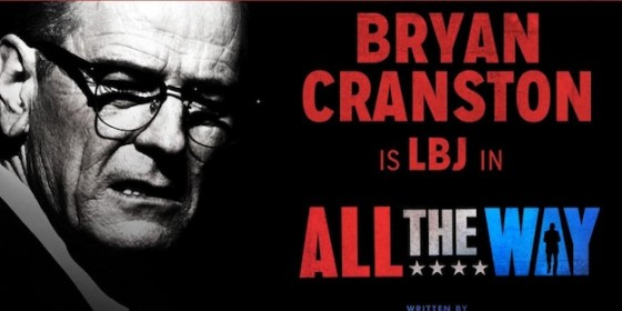 Bryan Cranston en Lyndon B Johnson dans la pièce de théâtre 'All the Way'