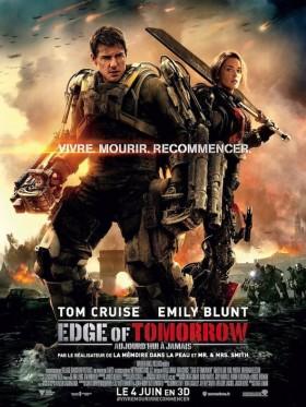 Edge of Tomorrow de Doug Liman -  affiche