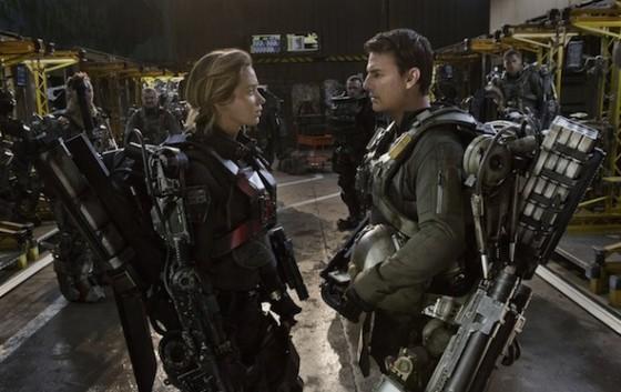 Emily Blunt et Tom Cruise dans Edge of Tomorrow (Aujourd'hui à Jamais) de Doug Liman - Photo Warner Bros. France