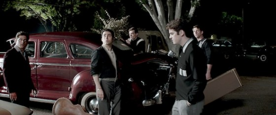 Erich Bergen, John Lloyd Young, Michael Lomenda, Vincent Piazza dans Jersey Boys de Clint Eastwood / Photo © Warner Bros.
