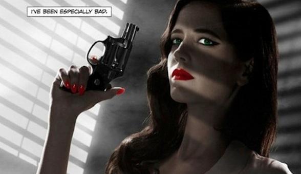 Eva Green dans Sin City 2 de Robert Rodriguez et Frank Miller