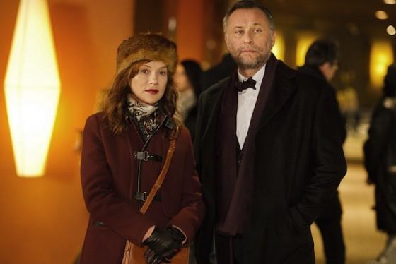 Isabelle Huppert et Michael Nyqvist dans La Ritournelle de Marc Fitoussi / Photo SND