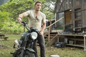 Chris Pratt dans Jurassic World de Colin Trevorrow