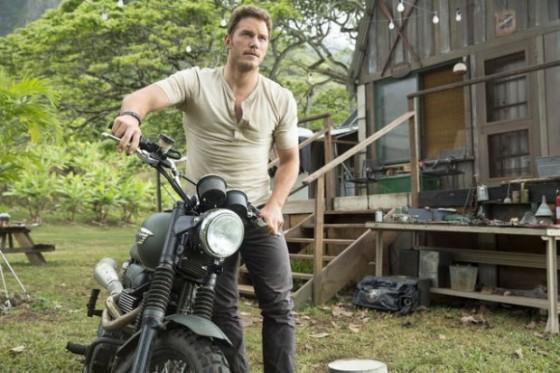 Chris Pratt dans Jurassic World de Colin Trevorrow