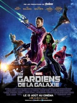 Les Gardiens de la Galaxie de James Gunn - affiche francaise