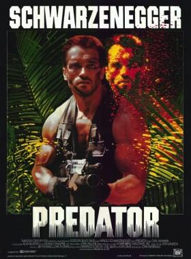 Predator  de John McTiernan - affiche originale
