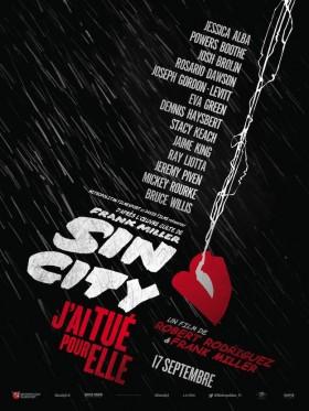 Sin City 2 j'ai tue pour elle - affiche