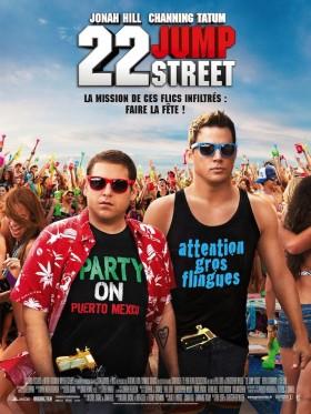 22 Jump Street de Phil Lord et Chris Miller - affiche