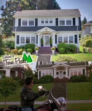 Comparaison maison Twin Peaks