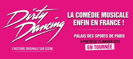 Dirty Dancing musical au Palais des Sports de Paris
