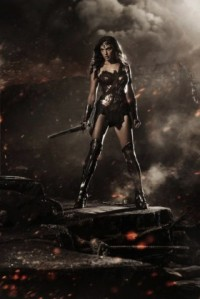 Gal Gadot en tenue de Wonder Woman
