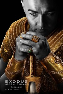 Joel Edgerton (Ramses) dans Exodus - Gods and Kings / affiche